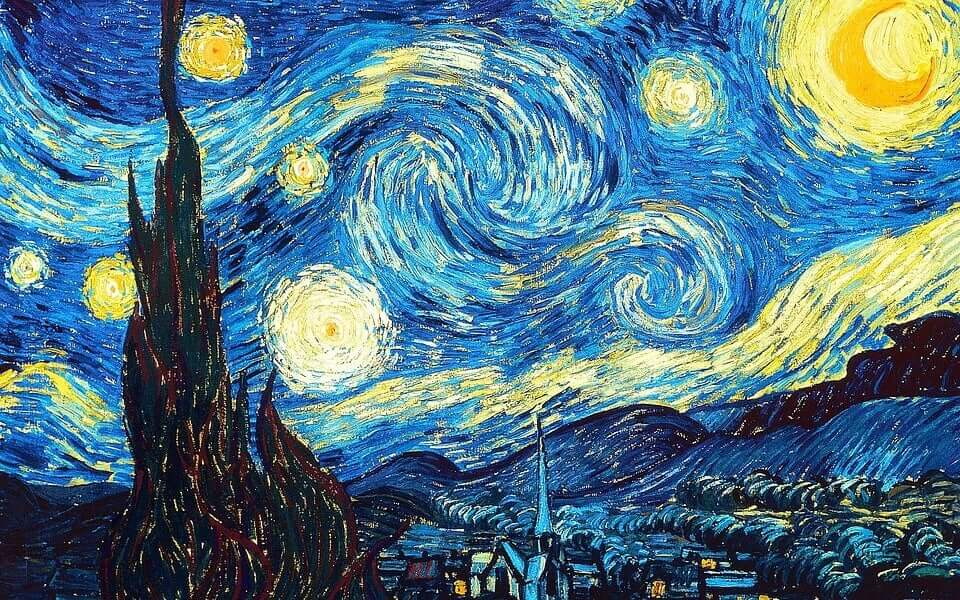 Sternennacht von Van Gogh