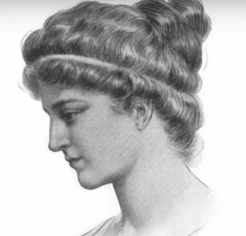 Hypatia - Gemälde