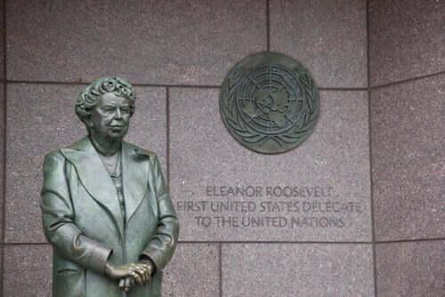 Eleanor-Roosevelt - Skulptur