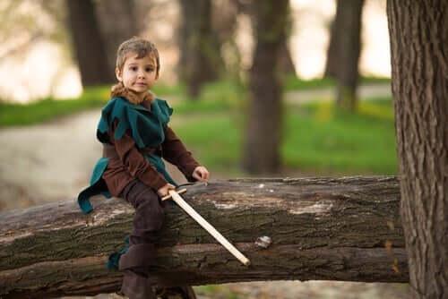 Robin Hood ist ein wunderbare Legende für Kinder