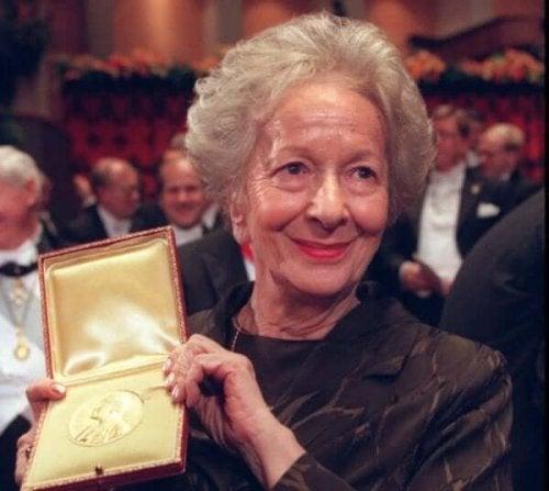 Die Dichterin gewann den Nobelpreis für Literatur