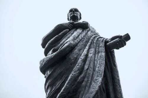 Seneca - Statue