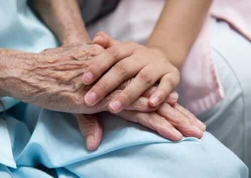 Betreuung - Hände
