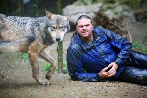 Shaun Ellis: Ein Mann unter Wölfen