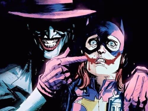 Batmans Widersacher, der Joker und Batgirl.