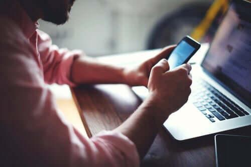 Nicht permanent online sein, eine große Herausforderung