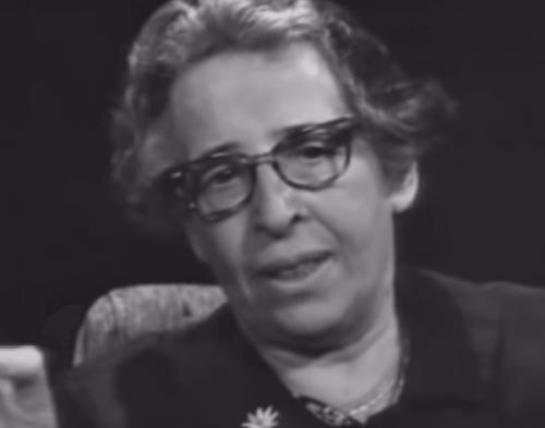 Johanna Arendt, eine pluralistische Denkerin