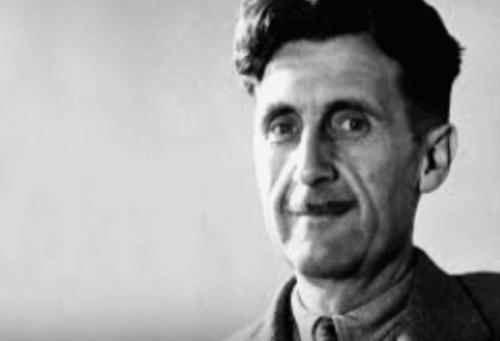 George Orwell: seine Biographie, Manipulation von Sprache und Totalitarismus