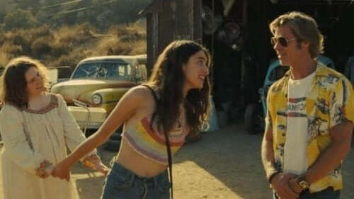 Tarantino - Szene aus Once Upon a Time in Hollywood