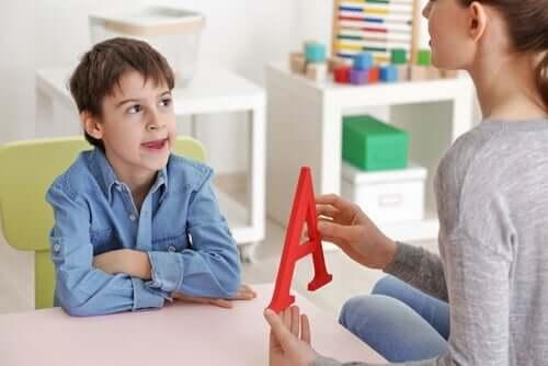 Spezifische Sprachentwicklungsstörung bei Kindern