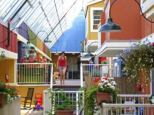 Cohousing - Frau