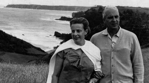Severo Ochoa - Foto mit Frau