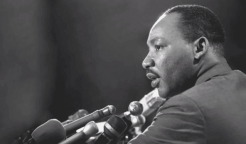 Martin Luther King Jr. und sein Streben nach Bürgerrechten