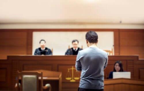 Todesstrafe - Mann vor Gericht