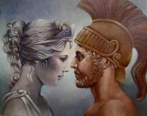 Ares verliebte sich unsterblich in die Göttin der Schönheit.