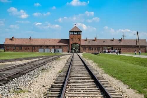 Ende 1944 wurde Chaim Ferster nach Auschwitz verlegt.
