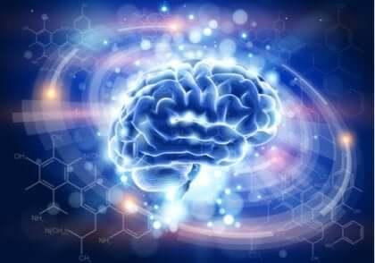 Ganzheitliche Psychologie - erleuchtetes Gehirn