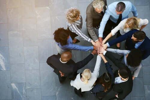 Gruppenzusammenhalt - Teamarbeit