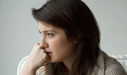 ISRA-Test - Frau mit Ängsten