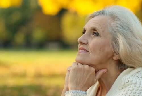 Die Verzweiflung verschwindet mit dem Alter
