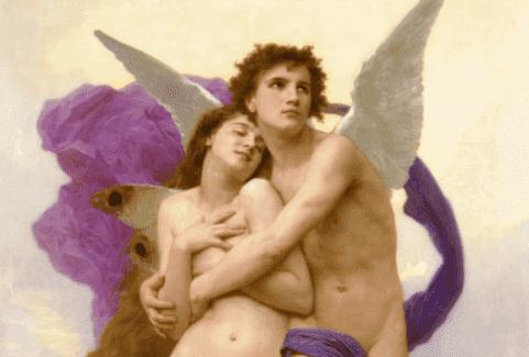 Der Mythos von Amor und Psyche findet ein glückliches Ende.