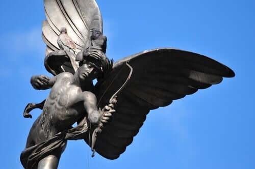 Amor ist der Sohn der römischen Göttin Venus.