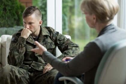 Die Behandlung von PTBS im militärischen Kontext ist am effektivsten, wenn sie unmittelbar nach dem traumatischen Ereignis beginnt.