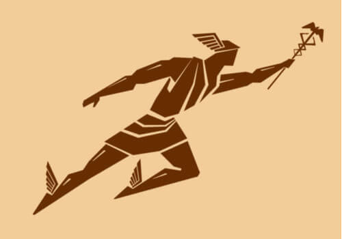 Der Mythos von Hermes, dem Götterboten