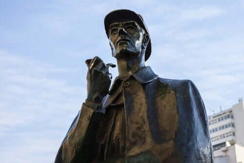 Arthur Conan Doyle - Sherlock Holmes Denkmal