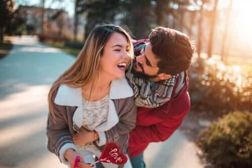 Verliebtheit - verliebtes Paar