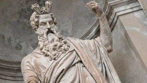 Teiresias - Zeus-Statue
