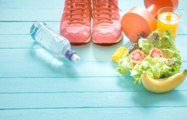 Verzichte auf restriktive Diäten und bevorzuge gesunde Gewohnheiten