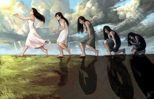Das natürliche Glück ist ein Geisteszustand, mit dem wir geboren werden
