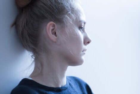 Frau mit Hypochondrie