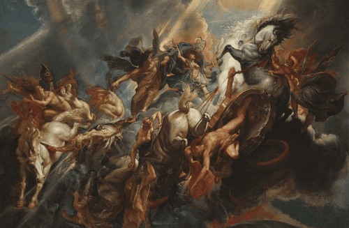 Peter Paul Rubens – Der Sturz des Phaeton