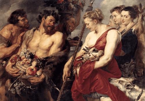 Peter Paul Rubens – Dianas Rückkehr von der Jagd