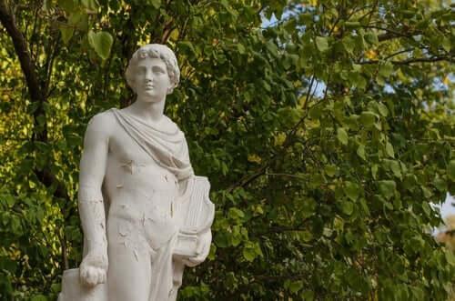 Orpheus und Eurydike - Skulptur von Orpheus