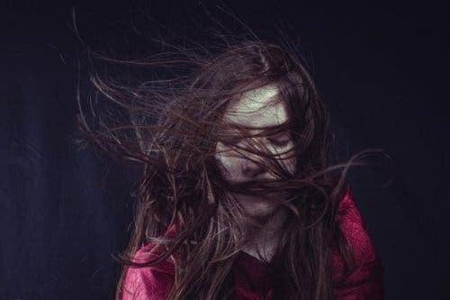 pathologische-Sorgen - Frau