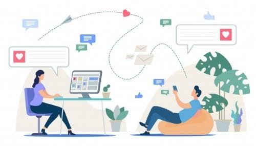 Die virtuelle Freundschaft und ihre Merkmale
