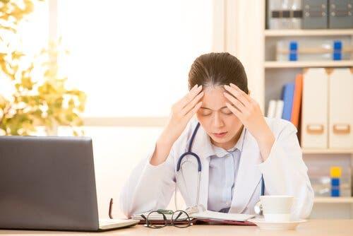 Medizinische Fachkräfte sind oft vom Burnout betroffen