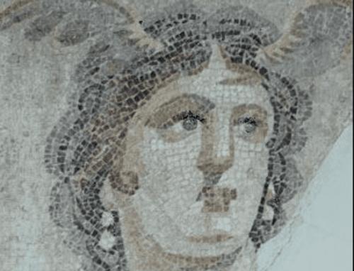 Mythos von Chiron - Mosaik