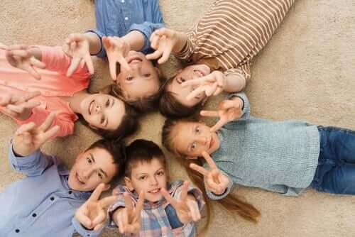 Bedeutung von Frieden - Kinder