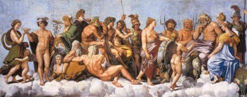 Mythos von Dionysos - Götter des Olymps