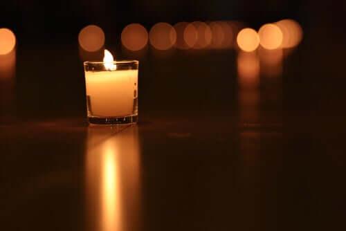 Herz Sutra - Kerze