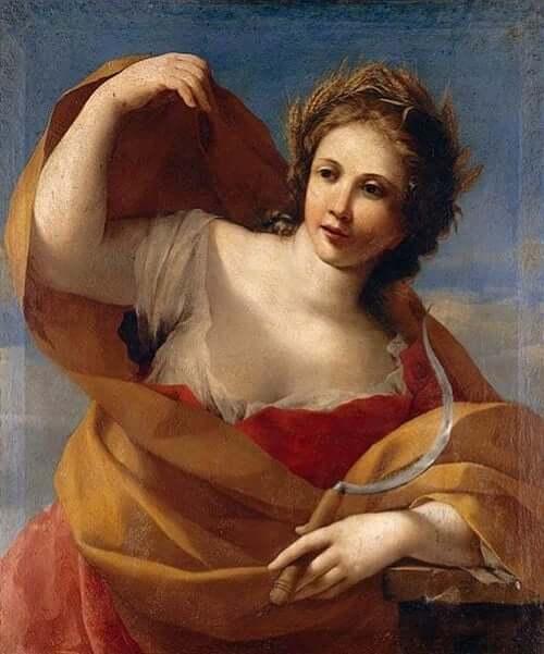 Demeter, die schöne blonde Göttin