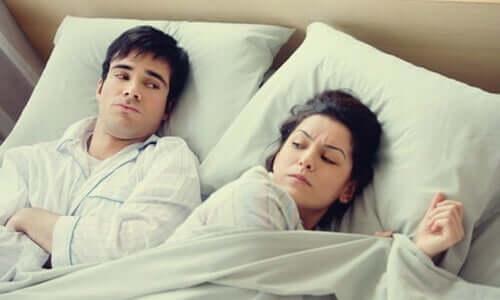 Besorgt oder wütend ins Bett gehen - eine schlechte Angewohnheit