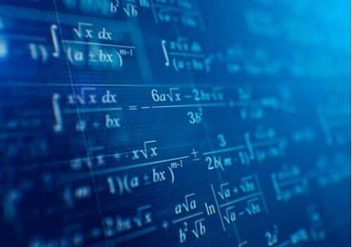 Emmy Noether - mathematische Formeln