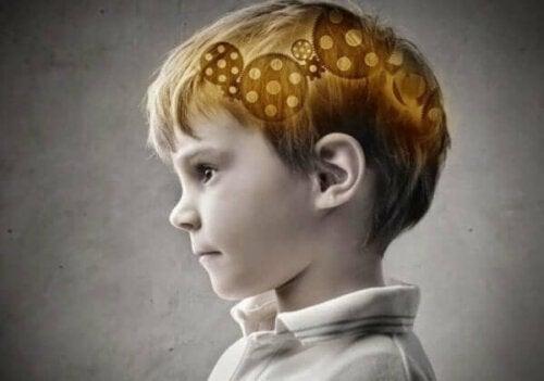 Epilepsie - Gehirn eines Jungen