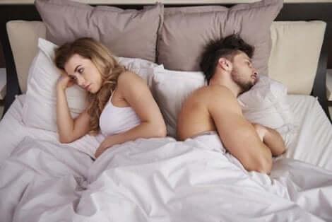 Ein Mangel an Sex ist eines der häufigsten Beziehungsprobleme