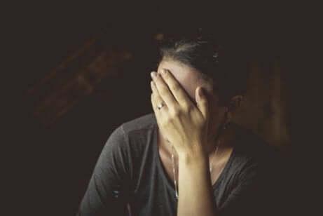 posttraumatischer Stress - Frau